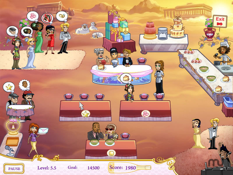 Screenshot 1 for Wedding Dash: Ready, Aim, Love!