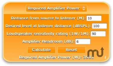 Screenshot 1 for Audilectric Calculator