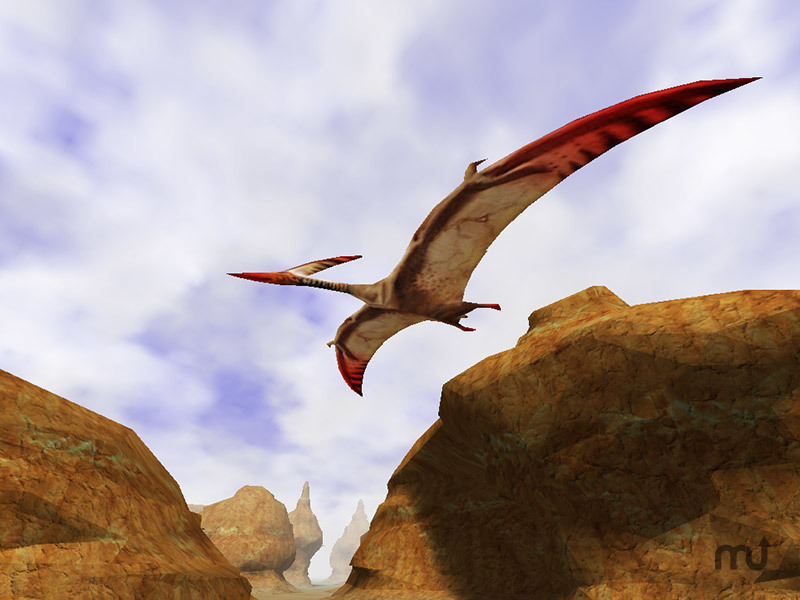 Screenshot 1 for 3D Canyon Flight Screensaver
