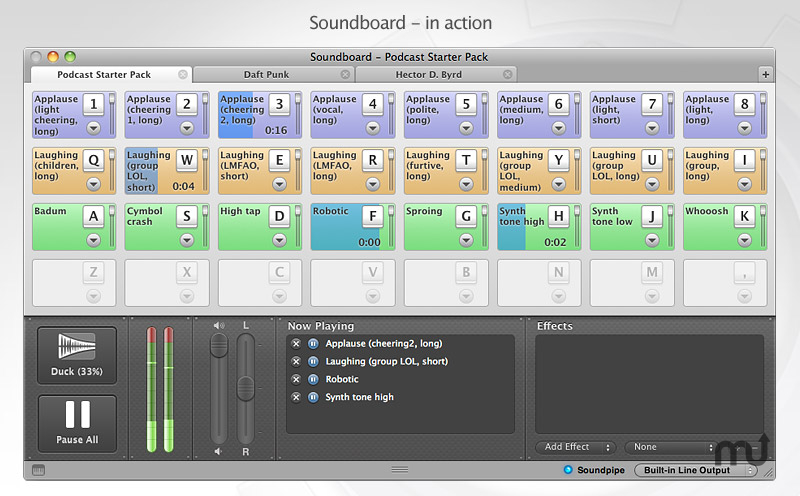 Screenshot 1 for Soundboard