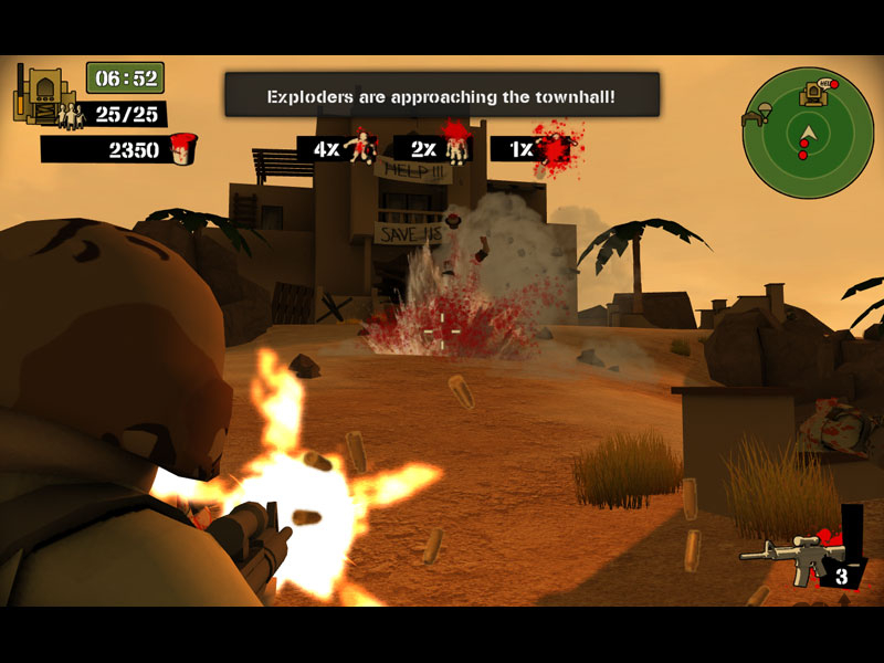 Screenshot 1 for Foreign Legion: Buckets of Blood