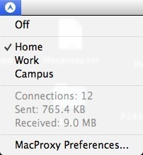 Screenshot 4 for MacProxy