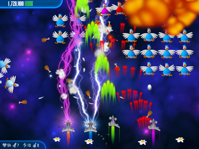 Screenshot 3 for Chicken Invaders 3