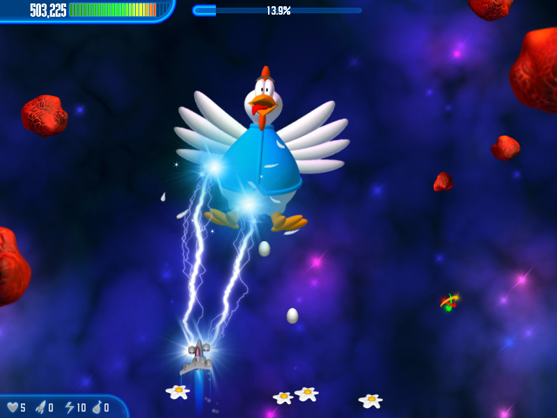 Screenshot 4 for Chicken Invaders 3