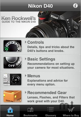 Screenshot 1 for Nikon D40 Guide