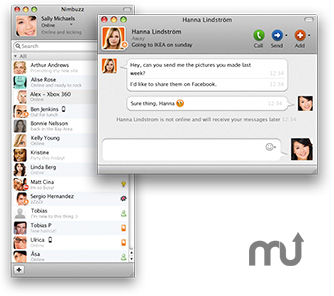 Screenshot 1 for Nimbuzz