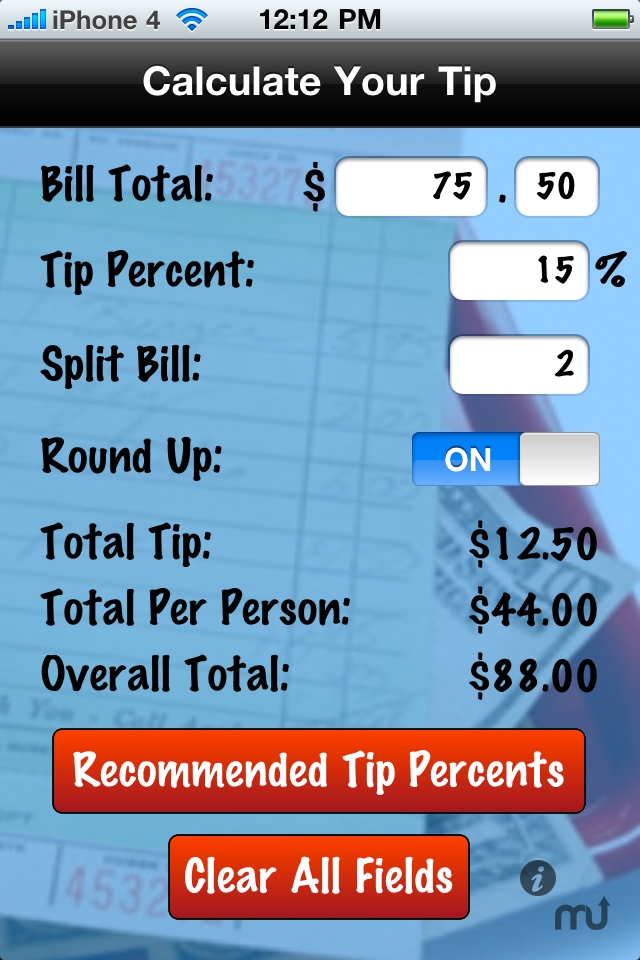 Screenshot 1 for Pocket Tip