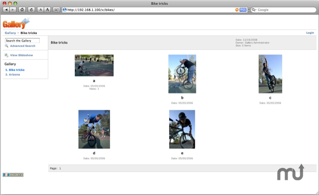 Screenshot 1 for JumpBox for Gallery Photo Management