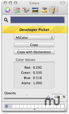 Screenshot 1 for Developer Color Picker