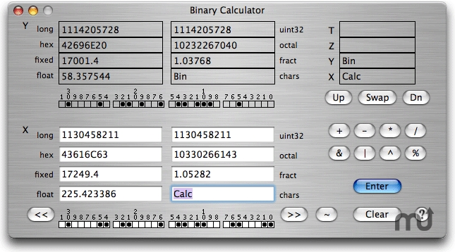 Screenshot 1 for Binary Calculator