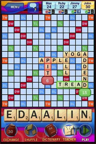 Screenshot 1 for SCRABBLE