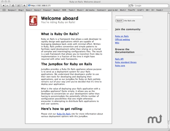 Screenshot 1 for JumpBox for Ruby on Rails