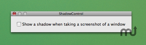 Screenshot 1 for ShadowControl
