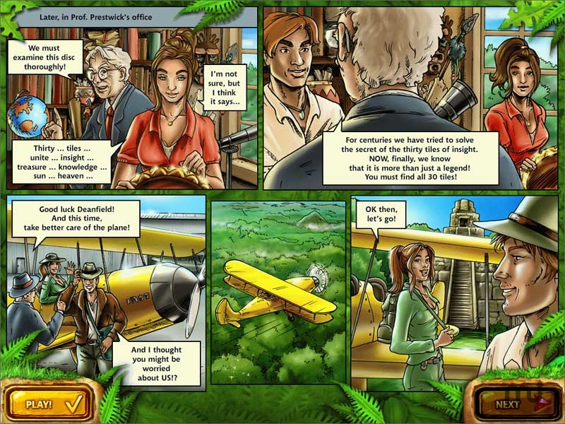 Screenshot 1 for Mahjongg: Ancient Mayas
