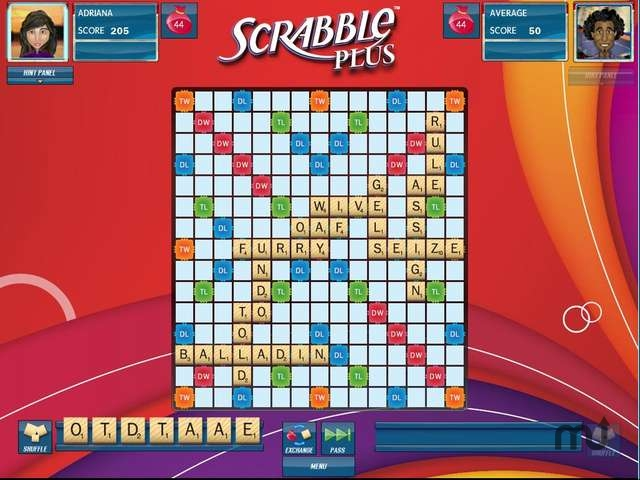 Screenshot 1 for Scrabble Plus