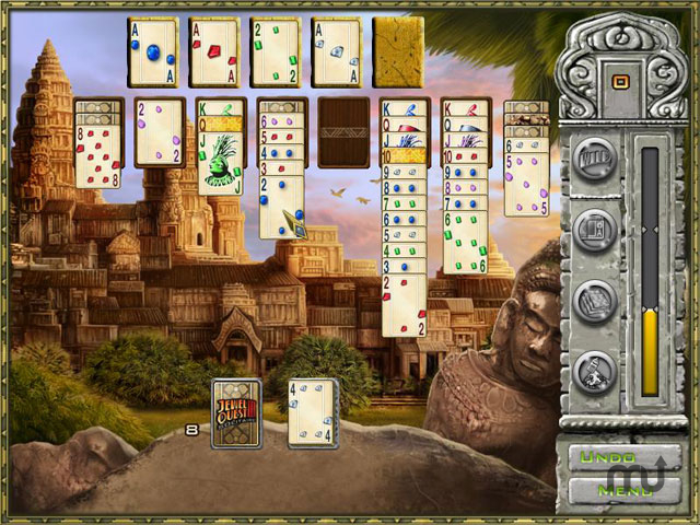 Screenshot 1 for Jewel Quest Solitaire 3