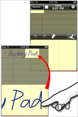 Screenshot 1 for PockeyPad