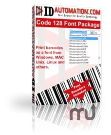 Screenshot 1 for IDAutomation Code 128 Barcode Fonts
