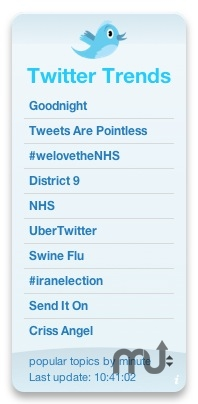 Screenshot 1 for Twitter Trends
