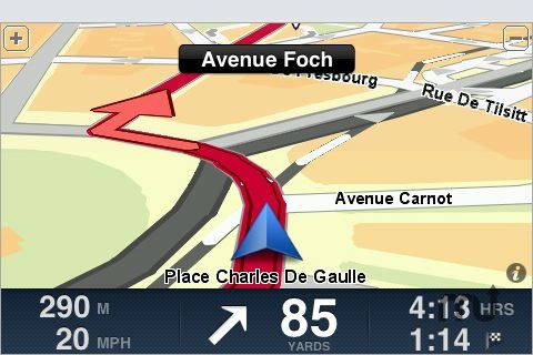 Screenshot 1 for TomTom Western Europe