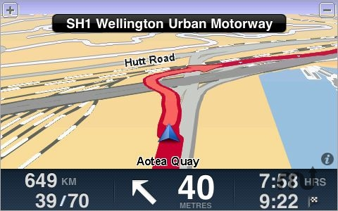Screenshot 1 for TomTom New Zealand