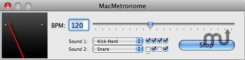 Screenshot 1 for MacMetronome