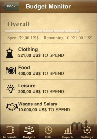 Screenshot 1 for Jumsoft Money