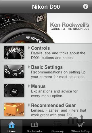 Screenshot 1 for Nikon D90 Guide
