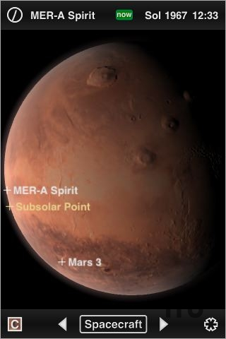 Screenshot 1 for Mars Globe