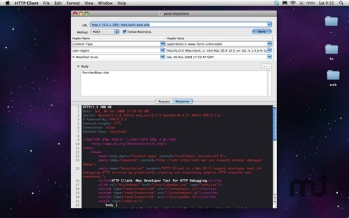Screenshot 1 for HTTP Client