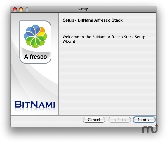 Screenshot 1 for BitNami Alfresco Stack