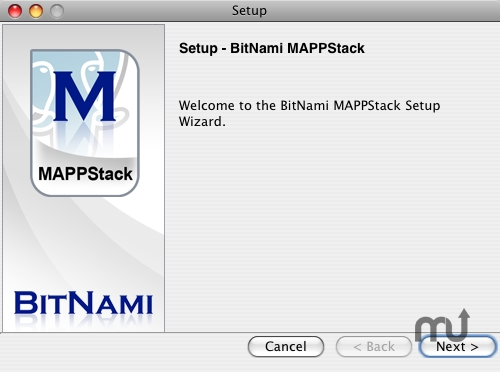 Screenshot 1 for BitNami MAPPStack