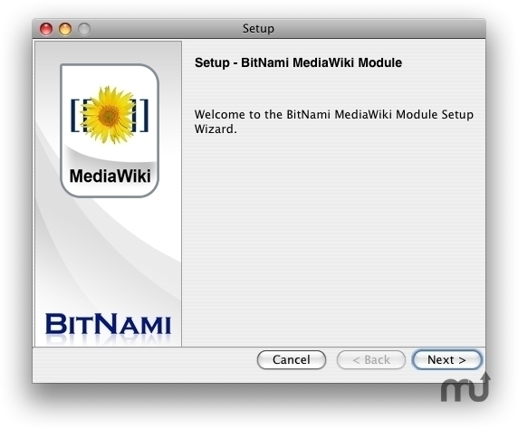 Screenshot 1 for BitNami MediaWiki Stack
