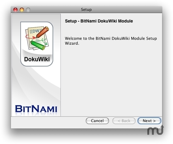Screenshot 1 for BitNami DokuWiki Stack