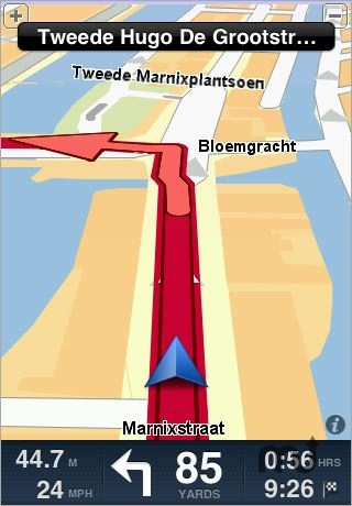 Screenshot 1 for TomTom Benelux