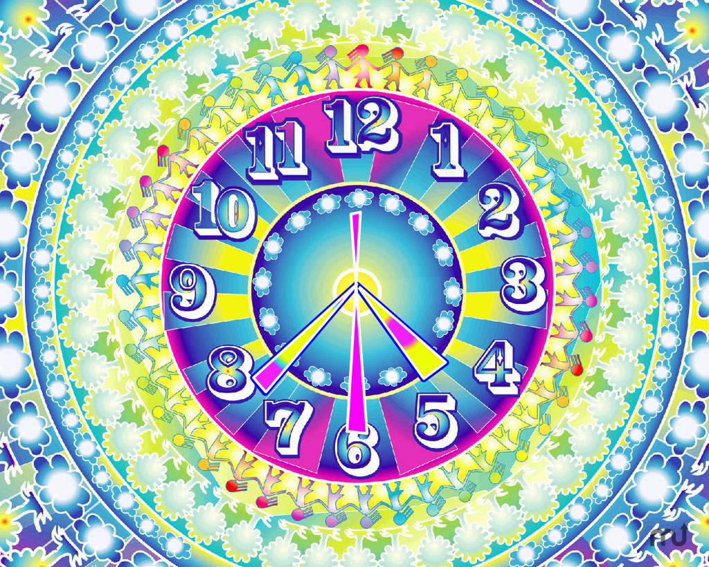 Screenshot 1 for 7art One World Clock