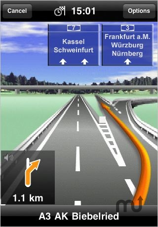 Screenshot 1 for MobileNavigator Europe