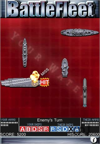 Screenshot 1 for BattleFleet Embedded