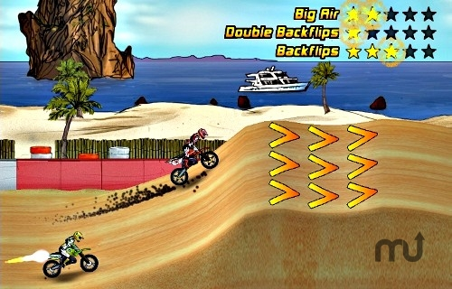 Screenshot 1 for Mad Skills Motocross