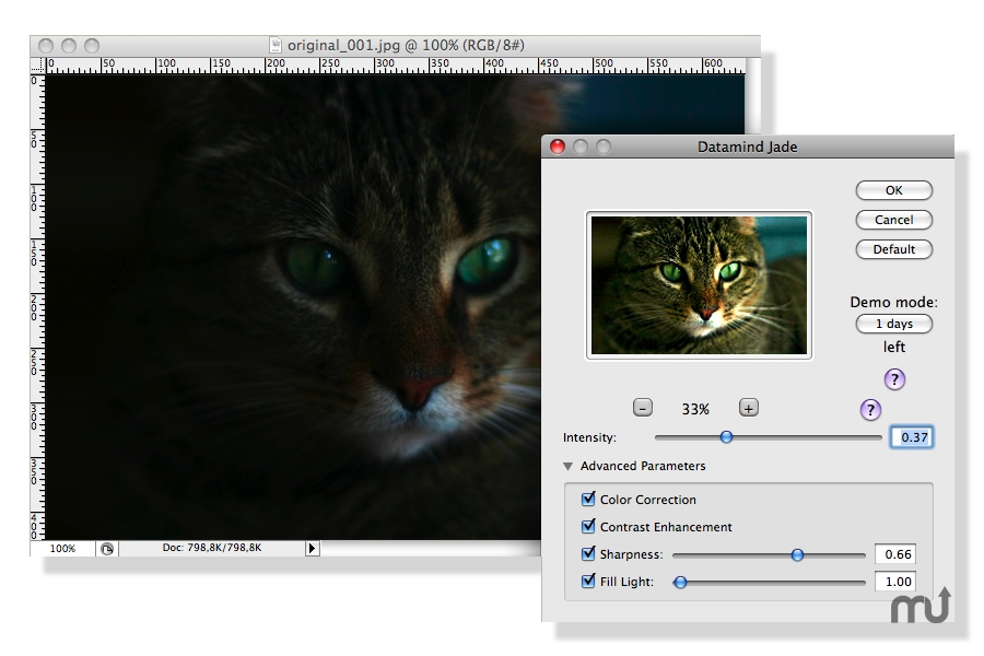 Screenshot 1 for Jade Photoshop Plug-in