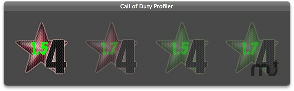 Screenshot 1 for Call Of Duty Profiler
