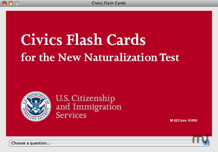 Screenshot 1 for Civics Flash Cards
