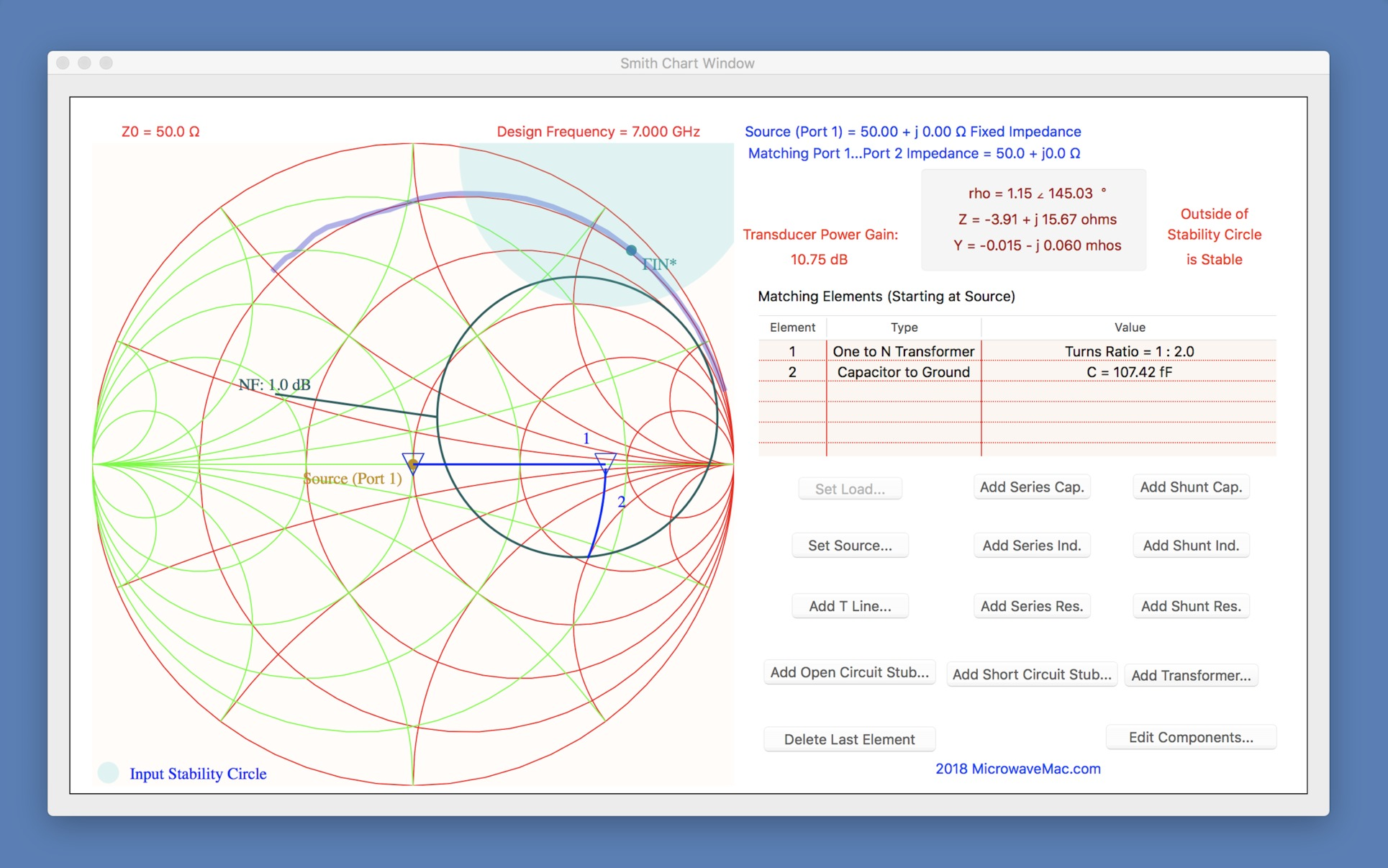 Screenshot 4 for Smith Chart