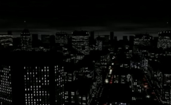 Screenshot 1 for PixelCity Screensaver