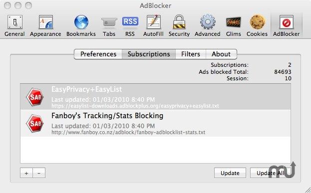 Safari AdBlocker 1 9 8 7 free download for Mac   MacUpdate