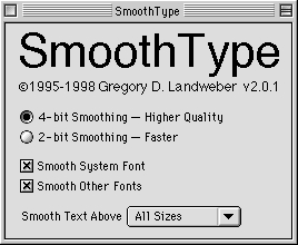 Screenshot 1 for SmoothType