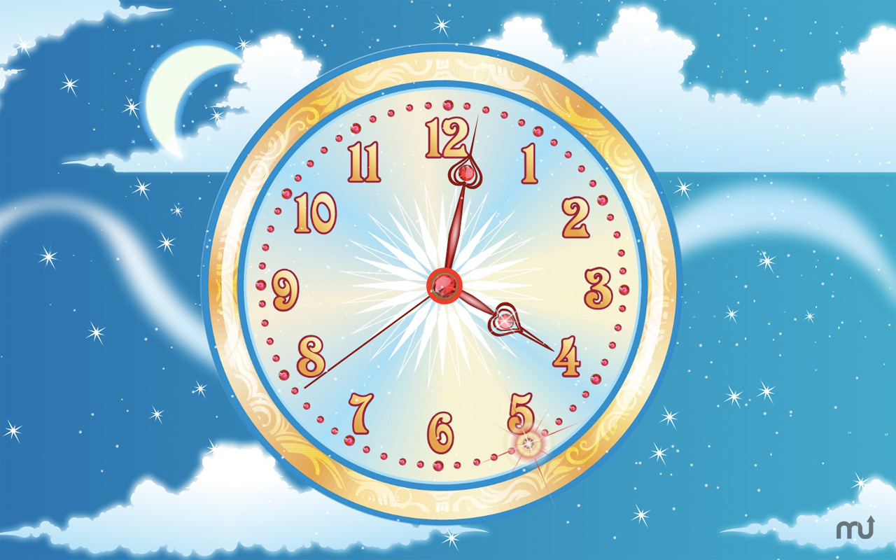 Screenshot 1 for 7art Sky Flight Clock