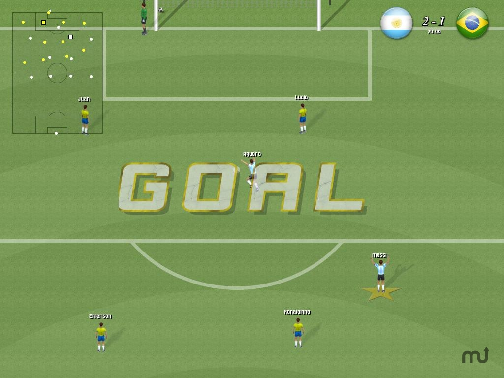 Screenshot 1 for AwesomeSoccerDemo