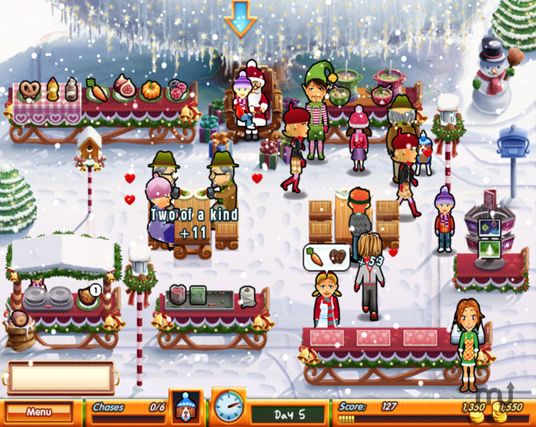 Screenshot 1 for Delicious - Emily's Holiday Season
