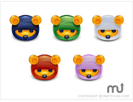 Screenshot 1 for Ninja Bears Icons